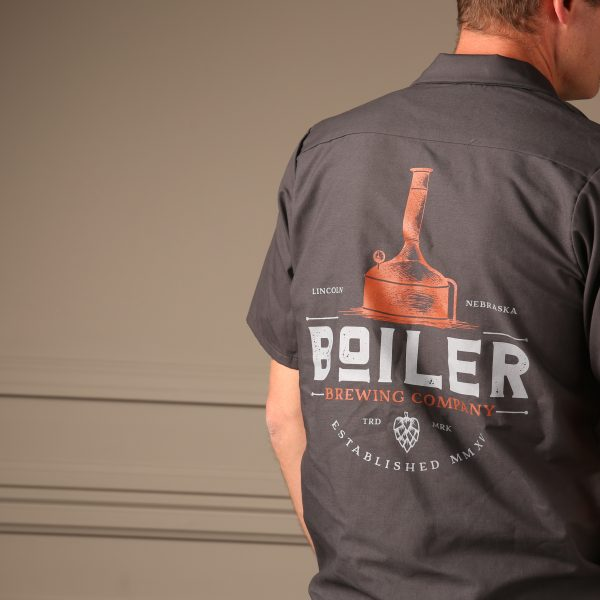 Boiler Brewing Company Brewer's Shirt – Back