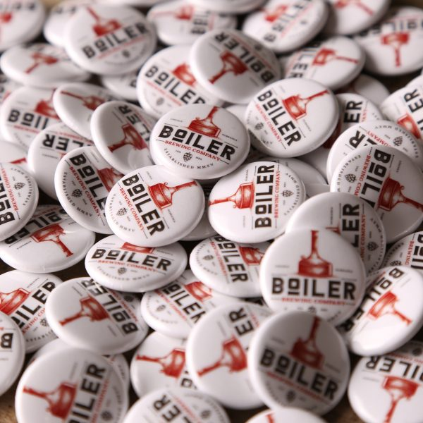 Boiler Brewing Company 1″ Round Buttons