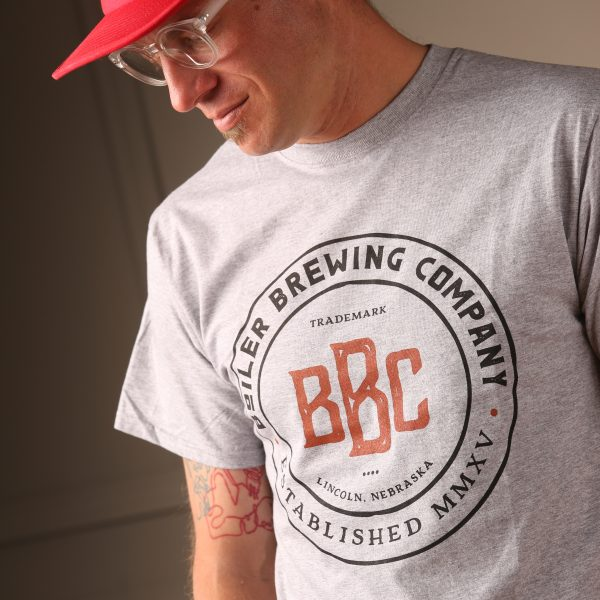 Boiler Brewing Companay Heather Gray T-Shirt
