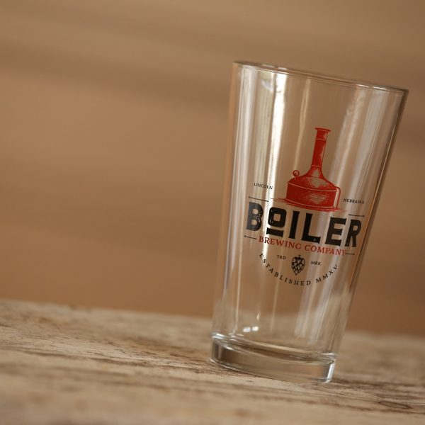 Boiler Brewing Company Shaker Pint Glass